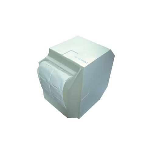 Le dérouleur plastique pour tampons ouate de cellulose