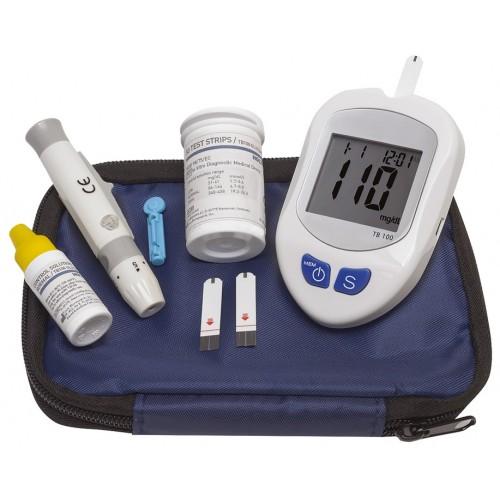 Kit d'autosurveillance glycémique