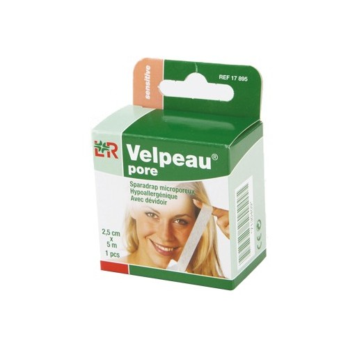 Sparadrap en non tissé Velpeau® pore*
