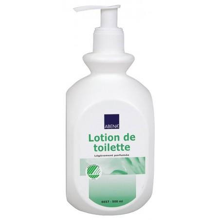 Gamme produits de soins : Lotion de toilette de 500 ml sans parabène
