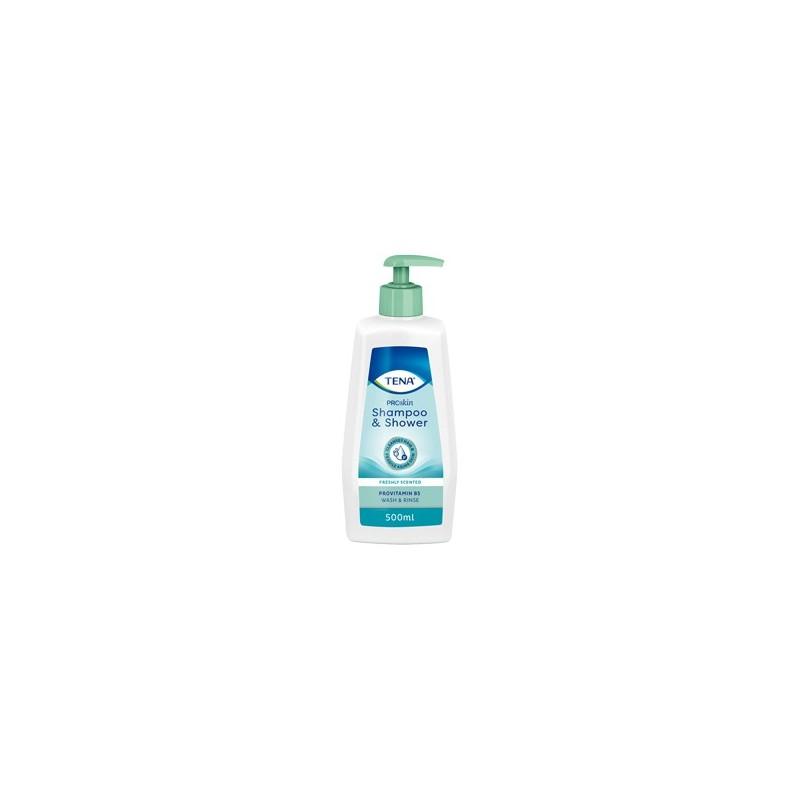 TENA Shampoo & Shower ProSkin : Toilette classique