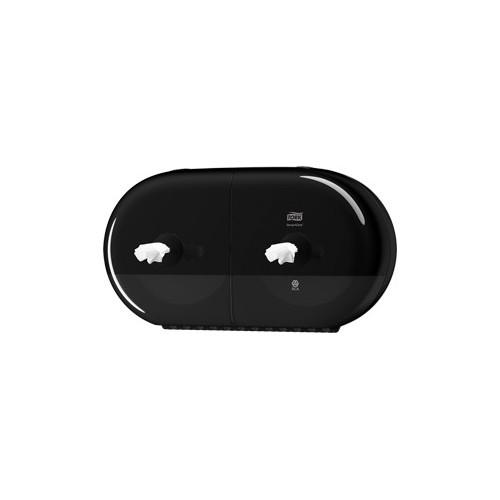 SmartOne® Mini Distributeur rouleau - T9 pour 2 rouleaux grande capacité de 620 feuilles.